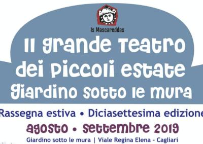 Al via la XVII^edizione de Il Grande Teatro dei Piccoli al centro di Cagliari